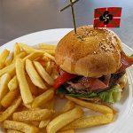 Burger Basque à l'auberge Logibar